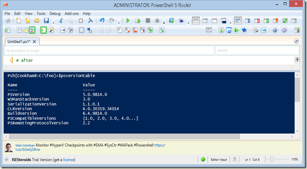 writing powershell scripts Powershell scripting tools powershell scripting tools product function programmer / manufacturer download purchase graphical powershell: simple ide: microsoft.