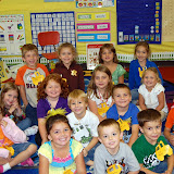 WBFJ Cici's Pizza Pledge Mount Olive Elementary Mrs. Bowman's Kindergarten Class