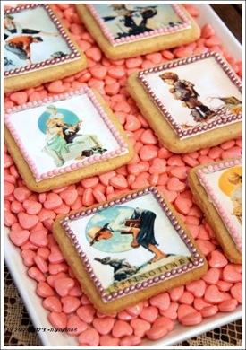 עוגיות חמאה וינטאג'