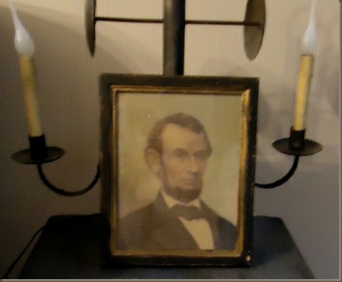 Lincoln framed