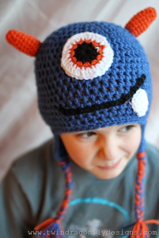 Crochet Monster Hat (28)