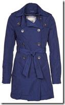Hilfiger Denim Blue Trench Coat