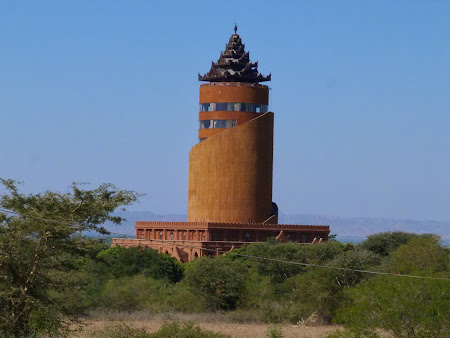Obiective turistice Myanmar: Turnul din Bagan.