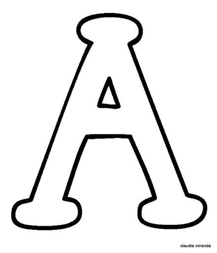 Moldes de letras para recortar pequeñas - Imagui