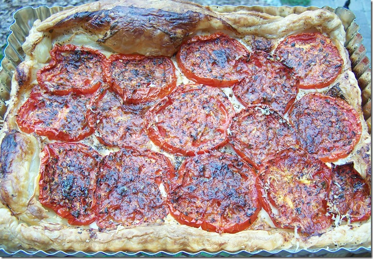 Tomato Tart 009