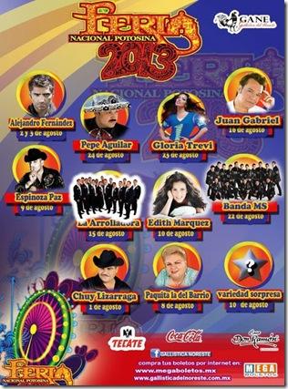 Cartelera y boletos palenque fenapo 2013 fenapo.mx megaboletos en linea