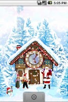 Screenshot of Christmas House Live Wallpaper