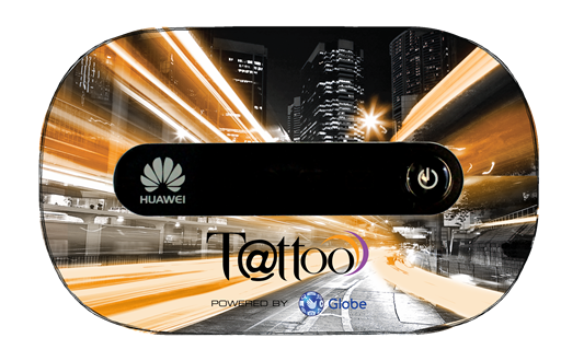 Tattoo Prepaid Mobile WiFi