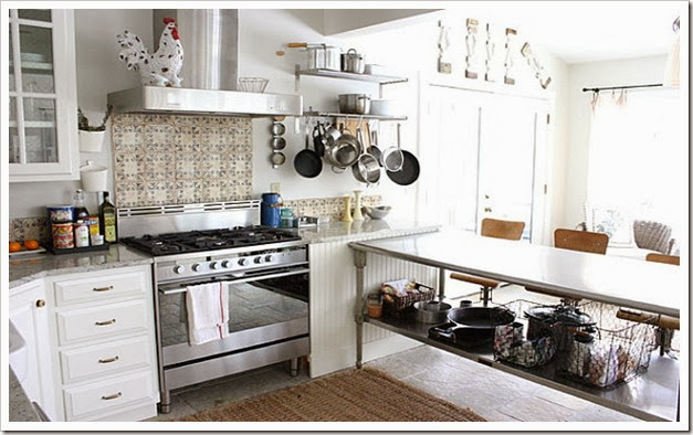 Tips-For-Make-The-Most-of-Your-Kitchen-Decor-Accessible-Equipment-In-An-Organized-Kitchen-Shelf-Oven-Stove-Kitchen-Cabinet-Kitchen-Island-Bar-Stool