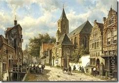 Dutch-Town-In-Summer