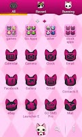 Screenshot of Vampire Kitty Go Launcher