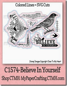 CTMH c1574-Believe in Yourself-480