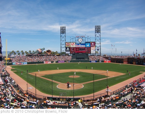 'AT&T Park' photo (c) 2010, Christopher Bowns - license: http://creativecommons.org/licenses/by-sa/2.0/
