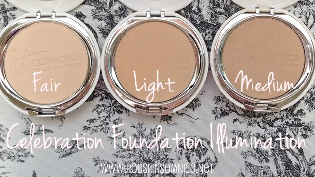 IT Cosmetics Celebration Foundation Illumination in Fair, Light and Medium