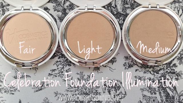IT Cosmetics Celebration Foundation Illumination in Fair, Light and Medium