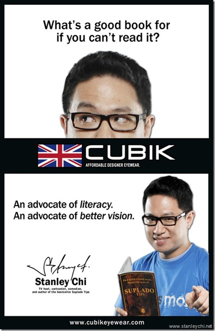 Stanley Chi for Cubik Eyewear