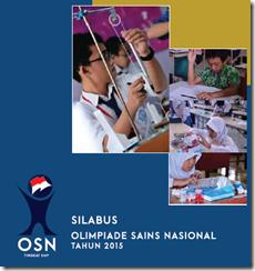 Silabus Olimpiade Sains Nasional (OSN) Ilmu Pengetahuan Alam Tahun 2015