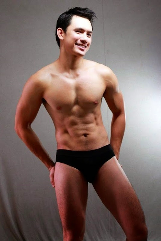 Allen Molina in Black Briefs
