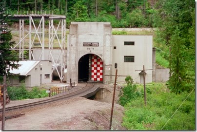 259159912 Door Opening at the East Portal of the Cascade Tunnel at Berne, Washington in 2002