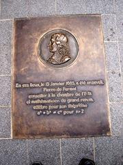 2009.05.23-021 plaque Pierre de Fermat