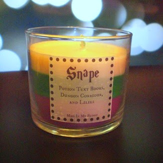 Snape Scented Candle from Mud in My Blood