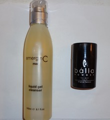emerginC Liquid Gel Cleanser and Balla Powder For Men