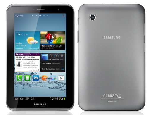 Samsung GALAXY Tab 2 7.0 Philippines Hero