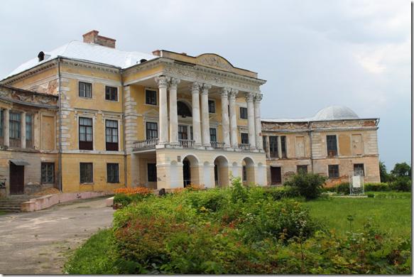 Вороновиця, палац