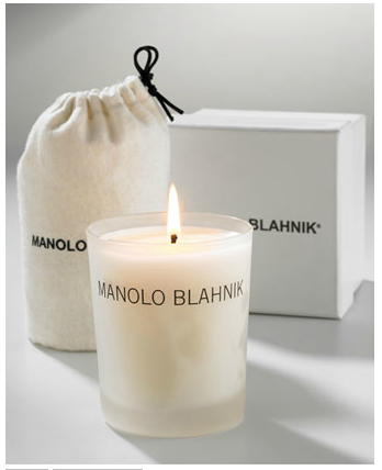 I am incredibly picky when it comes to scents and this candle from Manolo Blahnik is one of my absolute favorites. The scent is delicate and nowhere near overwhelming—I keep it lit on my desk for a constant calm ambiance.  ($45, bergdorfgoodman.com)
