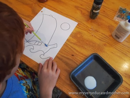 #ColumbusDayCraft #Kidscraft #Craftingwithkids