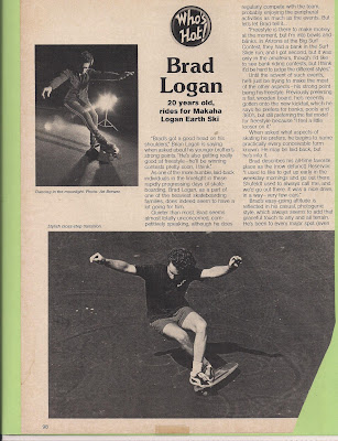 Page (1) Brad's Who's Hot Skateboarder Magazine