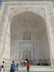 Entrance to the mausoleum