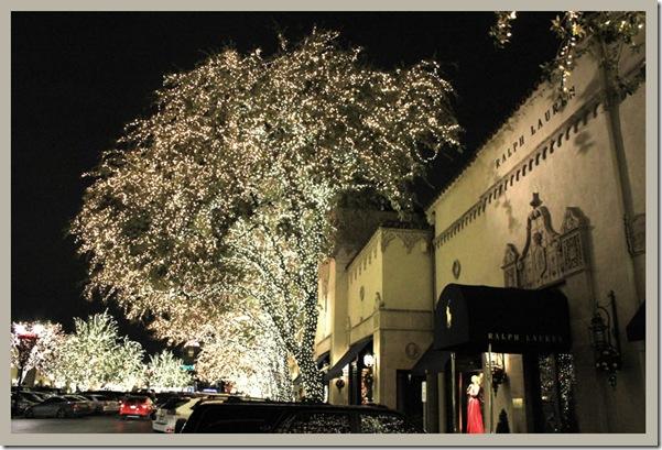 Christmas Dallas Highland Park Village