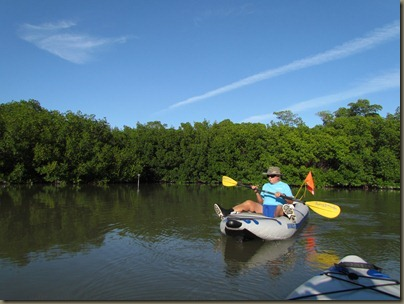 kayaking at Curry Hammock State Park