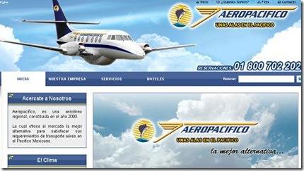 Aeropacifico aerolinea mexicana vuelos baratos