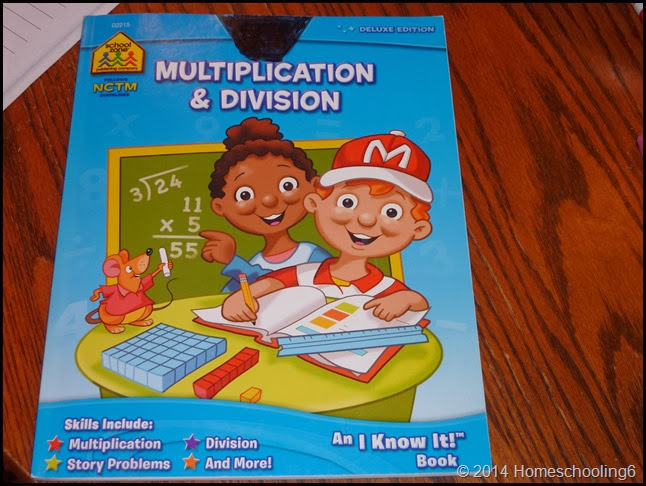 Multiplication Book