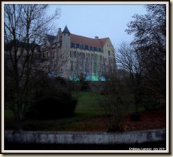 Abbaye Saint-Séverin au retour