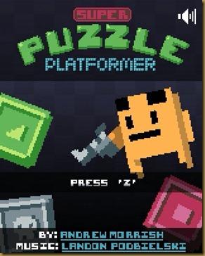 Super Puzzle Platformer タイトル