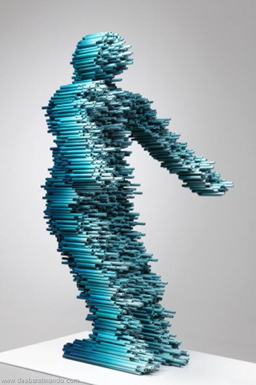 arte com tubos de pvc 3D velocidade desbaratinando  (4)