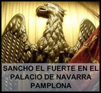 SANCHO EL FUERTE EN EL PALACIO DE NAVARRA - Pamplona