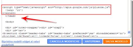 come aggiungere pulsante condivisione personalizzato  1 google blog blogger template personalizzato