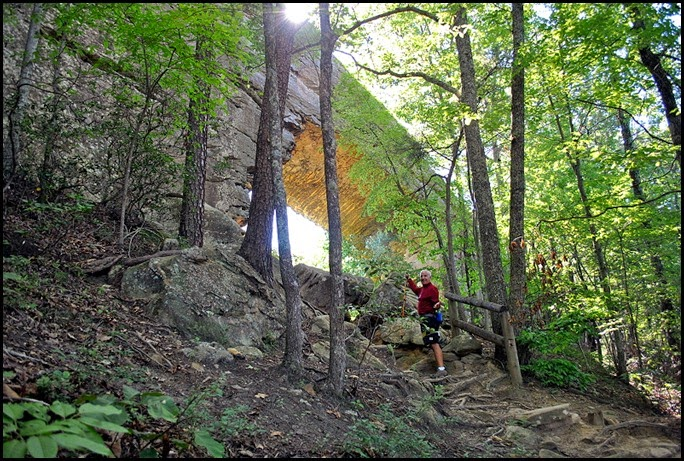 35 - Rock Garden Trail - Ta Da - There she is