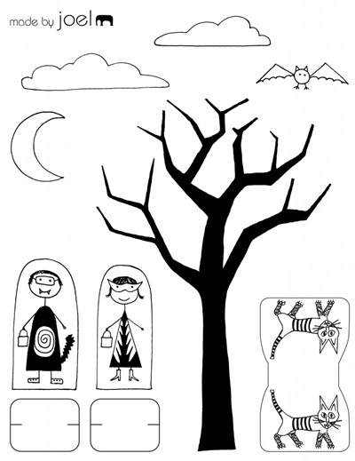 Made-by-Joel-Trick-or-Treat-Paper-City-Scene-Printout-791x1024