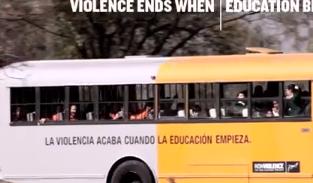 Camion violencia educacion