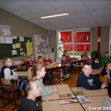 Aftrap Scoor een boek op Feiko Clockschool - Foto's Jeannet Stotefalk
