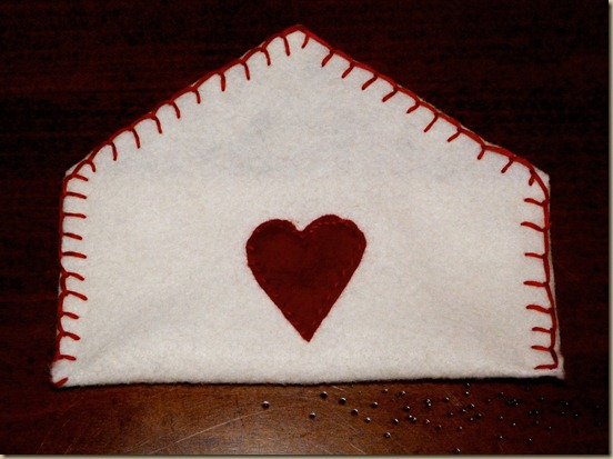 Felt Envelope Valentines 3