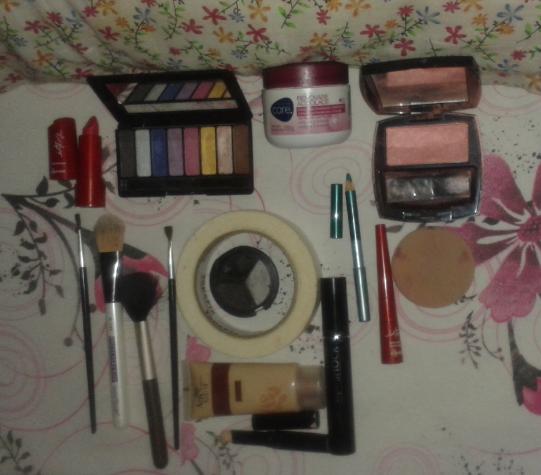 Maquiagem para Look do dia