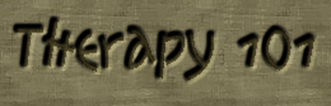 Therapy 101