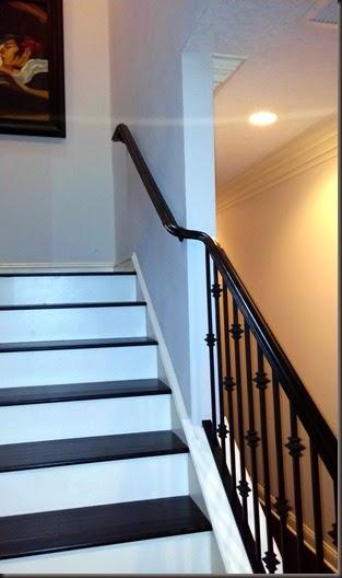 Wrought iron Rail with S-Curve
