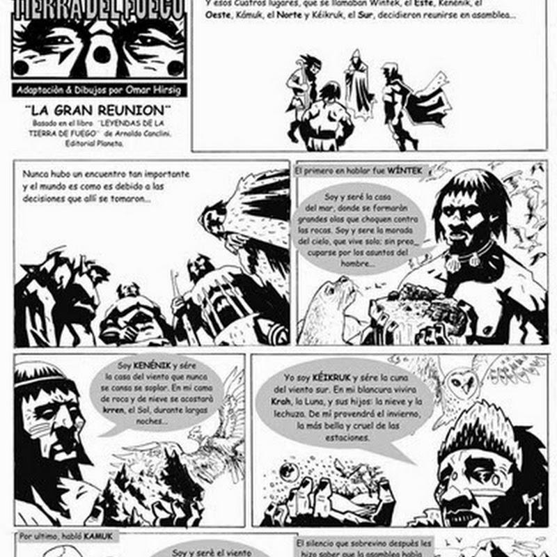 Leyendas y mitos patagónicos: el origen de los lagos.